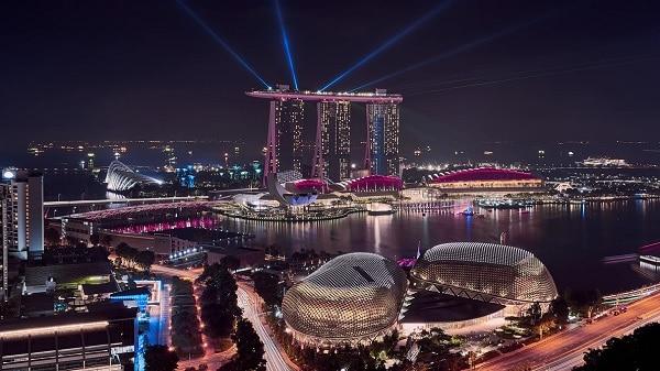 SG night view